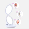 Espejo Doble Luz Led Plegable Maquillaje Rostro 5 X Original en internet
