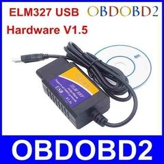 Scanner Automotriz Elm327 Obd2 Multimarca - + Cd - Usb + Mania-electronic en internet
