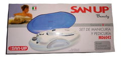 Set De Manicuria Y Pedicuria Beauty San Up 5 En 1 Env/gratis - tienda online