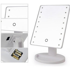 Espejo Para Maquillaje Luces Led Touch Screen Gira, Oferta en internet