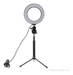 Aro Luz Led Studio Usb, Con Regulador 16 Cm, Oferta, Local, Mania-electronic