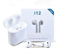 Auriculares Bluetooth  In Ear I12 Tws Tactil Calidad Oferta - MANIA-ELECTRONIC