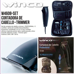 Kit Cortapelo Profesional Winco W4608 + Trimmer Hot-sale !!