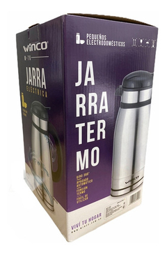 Jarra Pava Electrica Winco W-76 Ideal Mate 1,5 L 6 Cuotas Ya