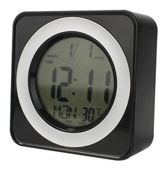 Reloj Digital Despertador Ds-3616 6 Botones Luz Led, New !! - MANIA-ELECTRONIC