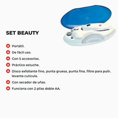 Set De Manicuria Y Pedicuria Beauty San Up 5 En 1 Env/gratis en internet