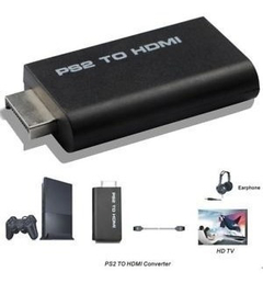 Adaptador Hdmi Playstation 2 Hd 720 Ps2 A Led Tv Audio Ya, Mania-electronic - tienda online