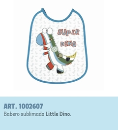 BABERO MEDIANO SUBLIMADO PACK X 6  - MIBES - ART. 2607