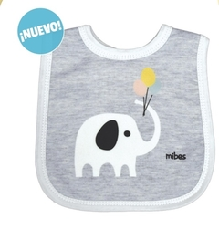 BABERO SUBLIMADO ANIMALES PACK X 6 UNIDADES - MIBES- ART: 2622 - comprar online