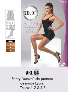 CAN CAN LYCRA SUAVE COCOT - Art. 64