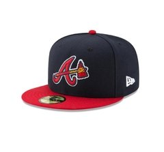 Gorra New Era Atlanta Braves On Field 59fifty Cerradas