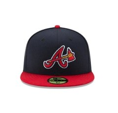 Gorra New Era Atlanta Braves On Field 59fifty Cerradas - comprar online