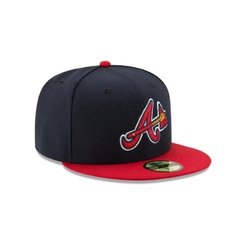 Gorra New Era Atlanta Braves On Field 59fifty Cerradas en internet