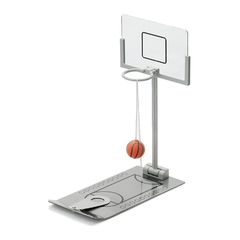 Mini Juego Basketball Basket Escritorio Metálico Decoración