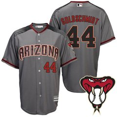 Camiseta Baseball MLB Arizona Diamond Backs Gris