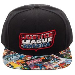 Gorra Snapback Justice League Of America - Bioworld USA - comprar online