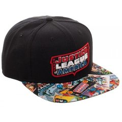 Gorra Snapback Justice League Of America - Bioworld USA en internet