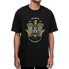 Remera Rebel Eight 8 Makers & Breakers Black