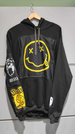Buzo Hoodie Nirvana Custom - KITCH TECH