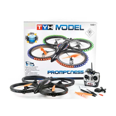 Drone Tyh Model Promptness Rc Quadcopter