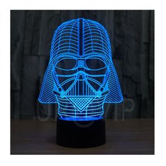 Velador Lampara LED RGB Tactil 7 Colores Star Wars Darth Vader en internet