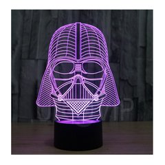 Velador Lampara LED RGB Tactil 7 Colores Star Wars Darth Vader - KITCH TECH