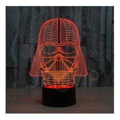 Velador Lampara LED RGB Tactil 7 Colores Star Wars Darth Vader