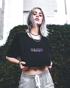 Camiseta Gangs color, gangs roupas, site da gangs, gangs color black