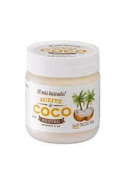 God Bless You - Aceite de Coco Neutro 500ml (3 Unidades)