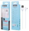 CABLE USB TIPO C 90º B3584