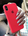 FUNDA SILICONE CASE PARA IPHONE X/Xs
