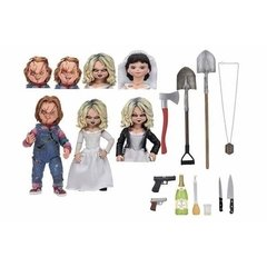 "Chucky & Tiffany 2 Pack (7"") Bride Chucky - NECA"