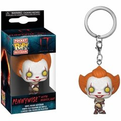 Funko Keychain: Pennywise W/ Beaver Hat - IT (Movies)