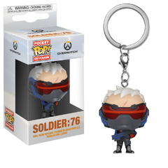 Funko Keychain: Soldier: 76 - Overwatch (Games)