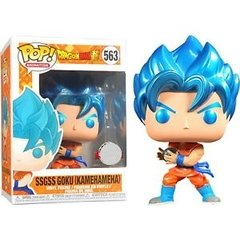 Funko SSGSS Goku Kamehameha (563) - Dragon Ball Z (TV)