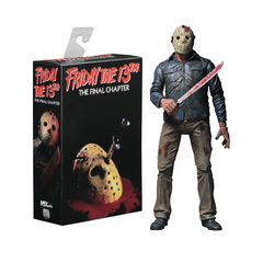 "Friday The 13Th - 7"" Collectible Fig - Ult. Part 4 The Final Chapter Ultimate Jason"