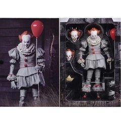 "It - 7"" Collectible Fig - Ultimate Pennywise (2017 Movie) en internet"