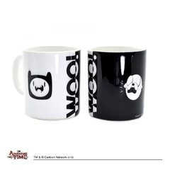 Taza Adventure Time Woo! - comprar online