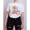 Remera HZD Aloy Watercolor Blanca Mujer