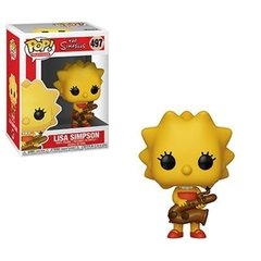 Funko Lisa W/Saxophone (497) - Simpsons (TV)