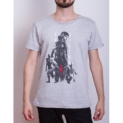 Remera Days Gone S.I.L Gris Hombre