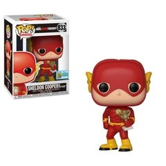 Funko CC Sheldon As Flash (833) - The Big Bang Theory (TV)