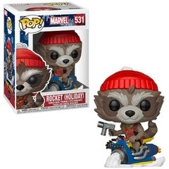Funko Rocket Holiday (531) - Marvel Holiday (Marvel)