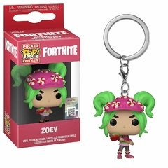 Funko Keychain: First Light S2  Zoey - Fortnite (Games)