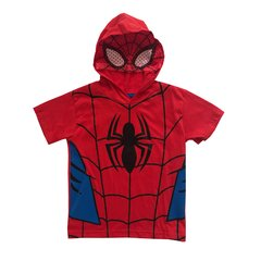 Remera Spiderman Capucha C/Mascara Niño
