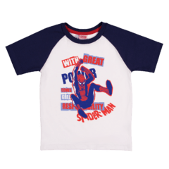 Remera Niño Spiderman Great Power - comprar online