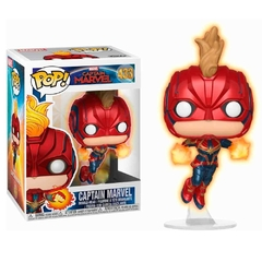 Funko Captain Marvel Flying (433) - Captain Marvel (Marvel) - comprar online