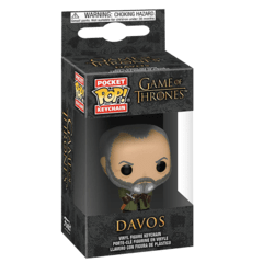 Funko Keychain: Davos - Game Of Thrones (TV)