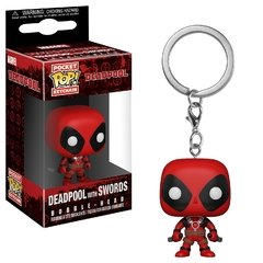 Funko Keychain: Deadpool W/Sword - Deadpool (Marvel)