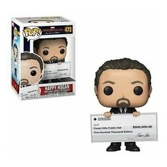 Funko Happy Hogan (472) - Spiderman Ffh (Marvel)